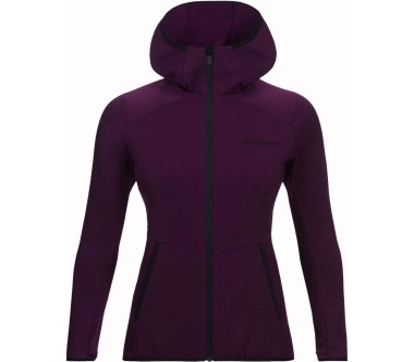 Peak Performance - Helo women's Powerstretch jacket (red)