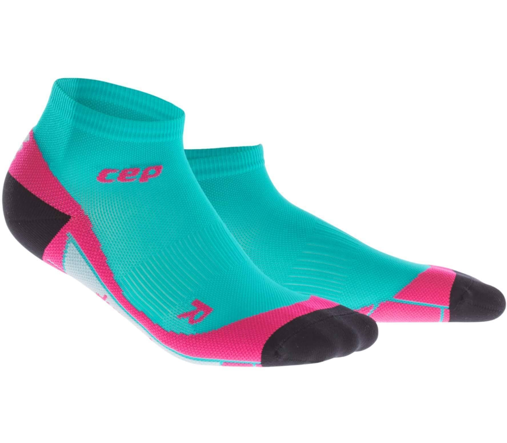 CEP - Low Cut Damen Laufsocken (grün/pink) - IV