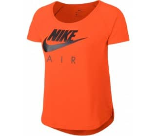 orange Women Running Top