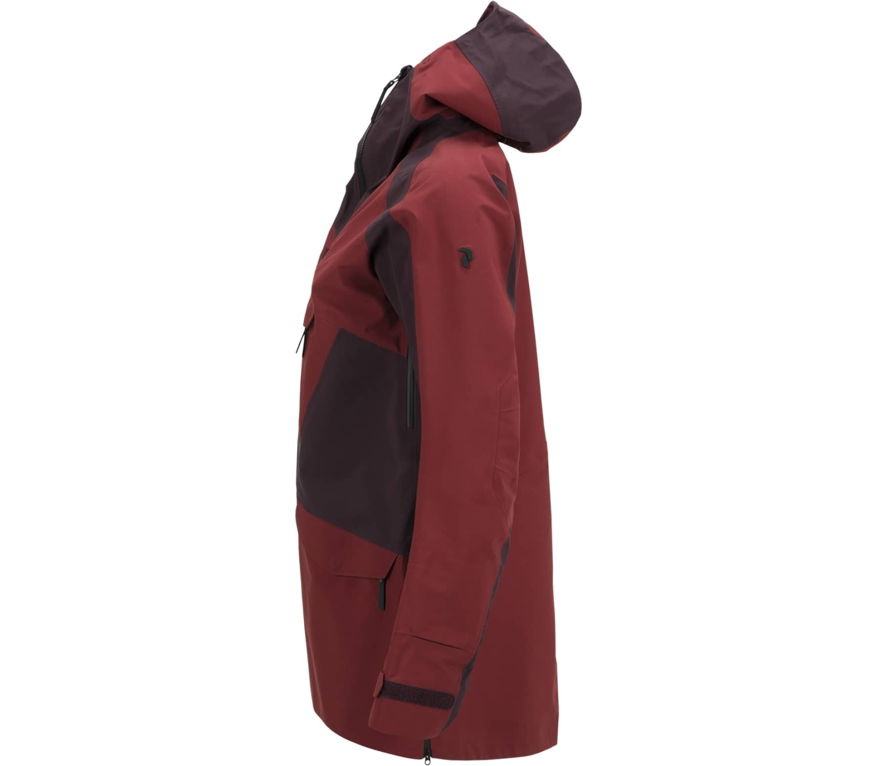 Peak Performance - Volcan Active women's skis jacket (dark red)