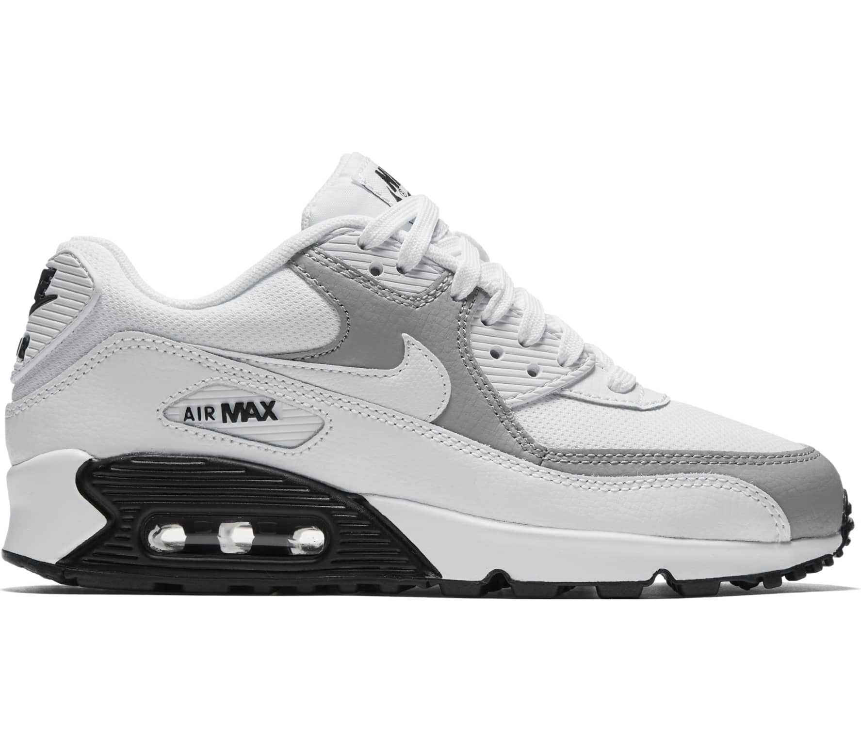 on sale f5eff 0fb5a ... discount code for nike air max 90 mujer zapatilla de deporte blanco  gris 86759 58397