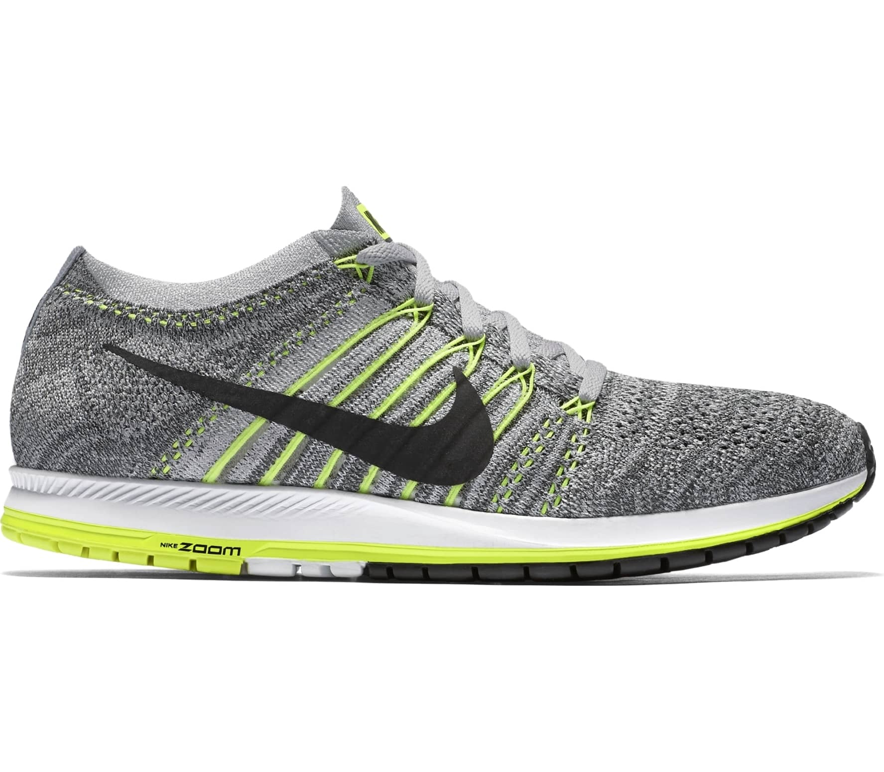 huge discount d6c45 65ba1 nike grey and yellow running shoes