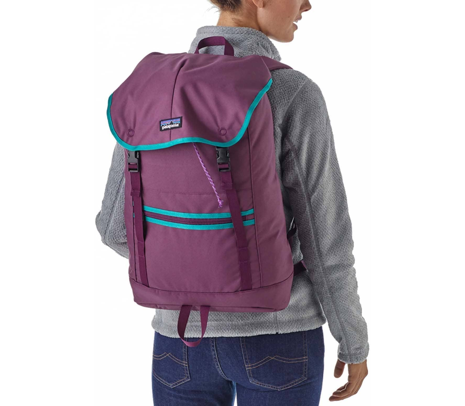 f9ddcacf9fcec Patagonia - Arbor Classic Pack 25L backpack (purple) - buy it at the ...