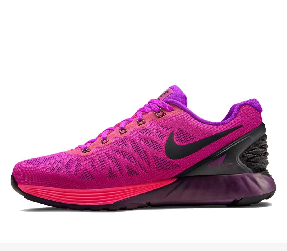 timeless design 831fc 85093 Nike - Lunarglide 6 women s running shoes (purple pink)