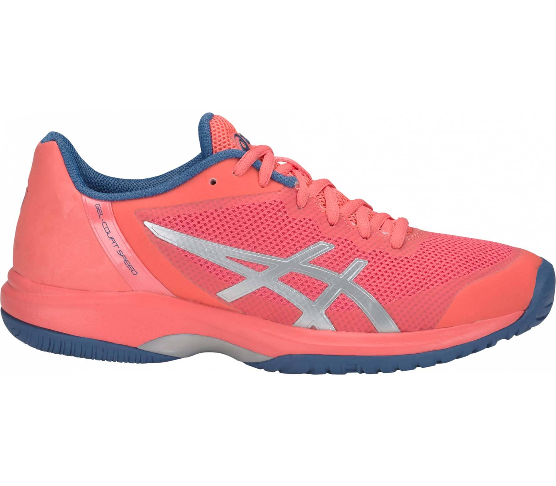 ASICS - Gel-Court Speed Damen Tennisschuh (orange/silber)