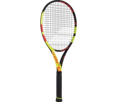 Babolat - Pure Aero Decima (unstrung) tennis racket (red/yellow)