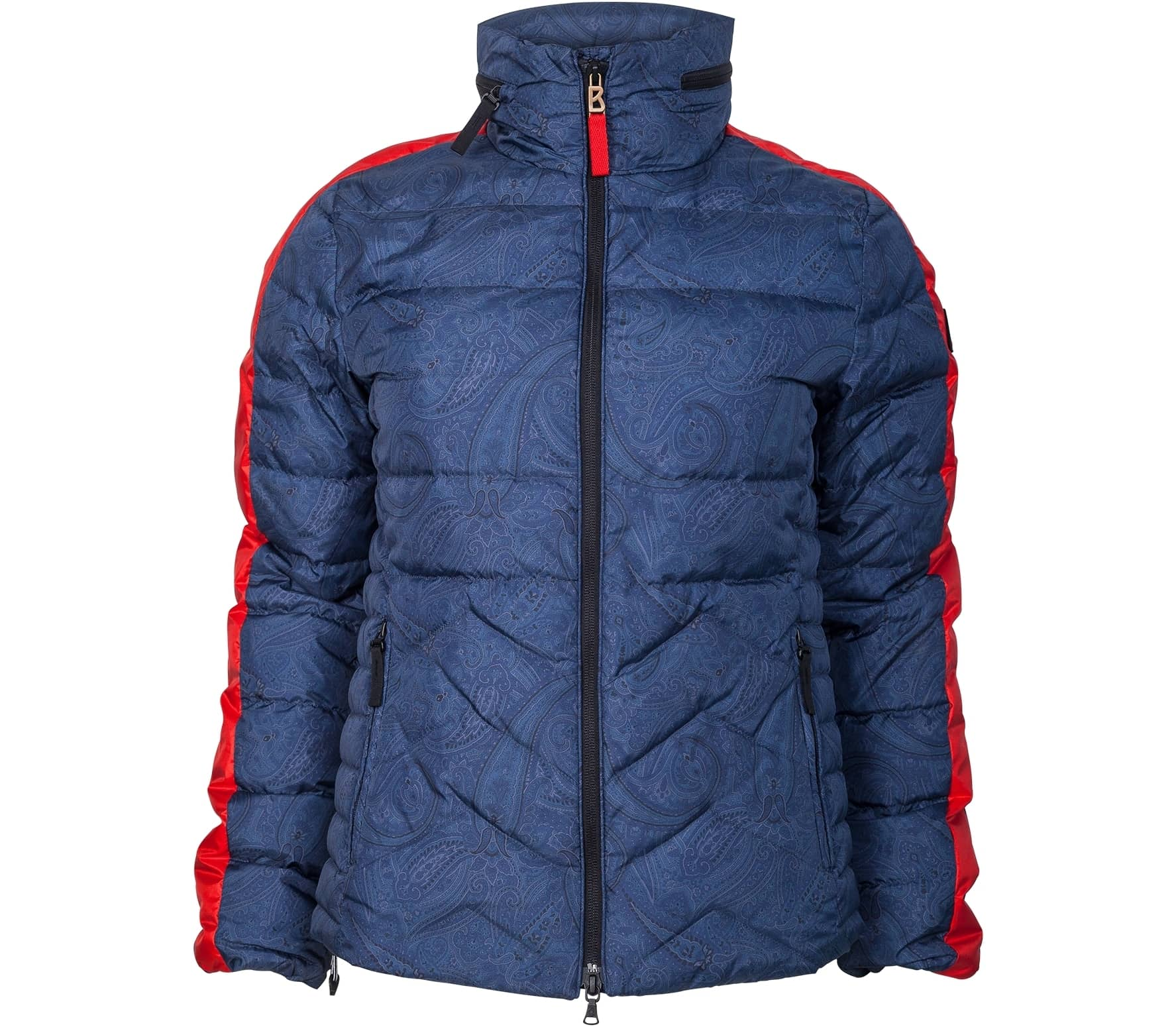 bogner fire ice danea d women 39 s ski jacket blue red. Black Bedroom Furniture Sets. Home Design Ideas