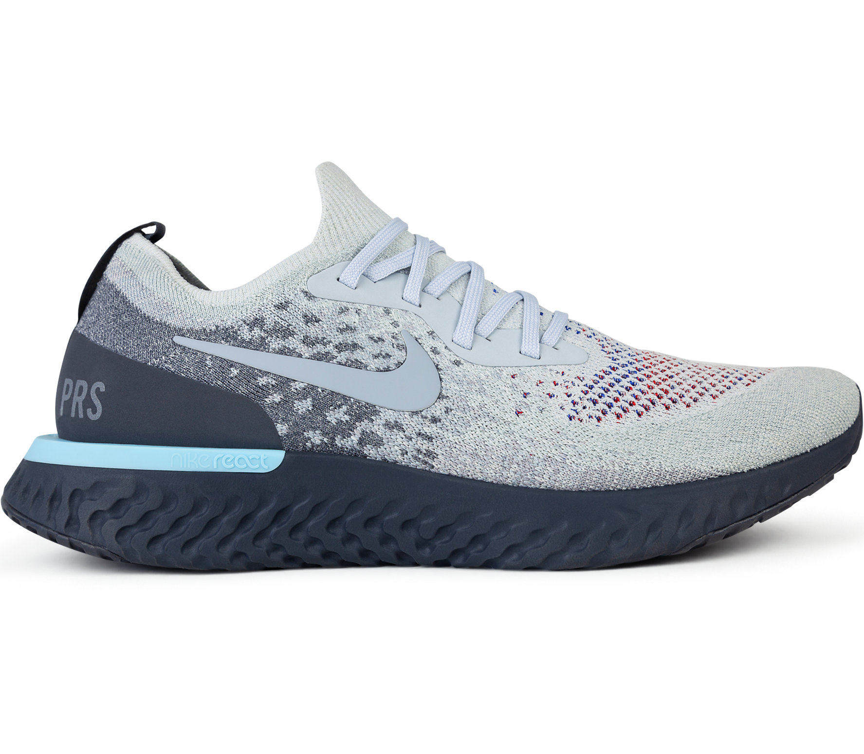 5b933d96869a Nike - Epic React Flyknit We  PARIS  men s running shoes (grey ...