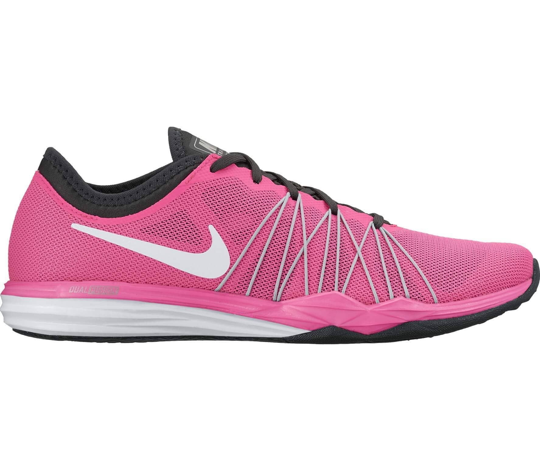 lowest price 25a00 bf4a5 Nike - Dual Fusion TR HIT women s training shoes (pink white)