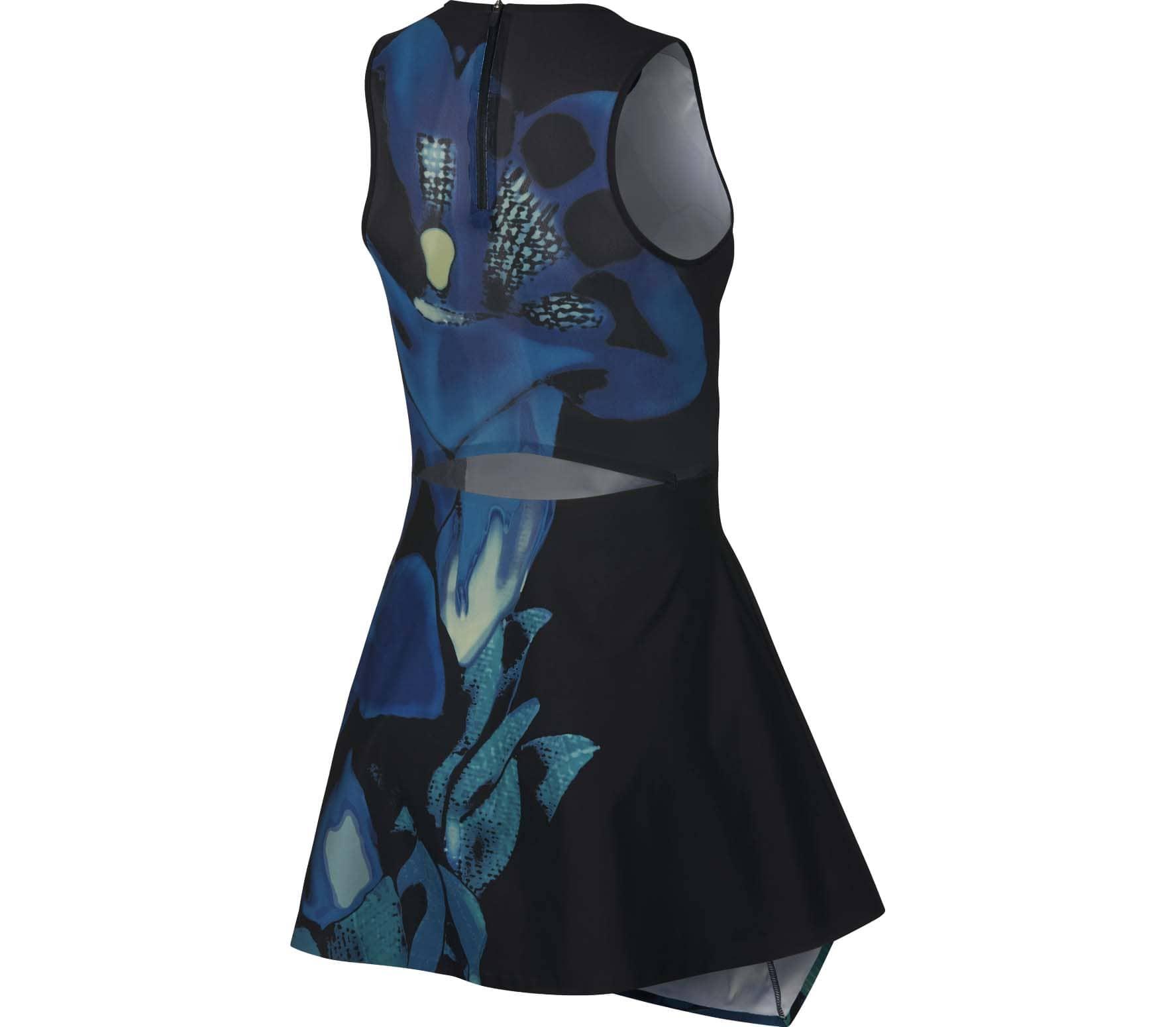 Nike Dri-FIT Maria Damen Tenniskleid blau