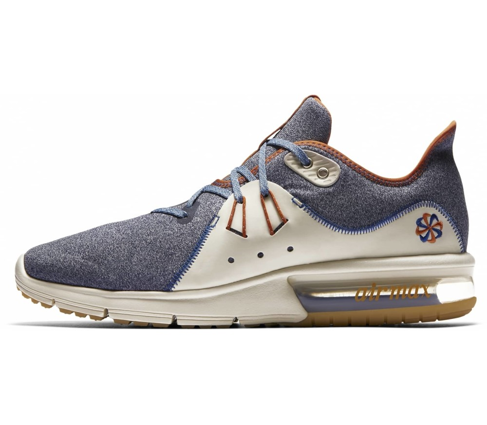 uk availability e12f7 24308 Nike - Air Max Sequent 3 men s running shoes (blue)