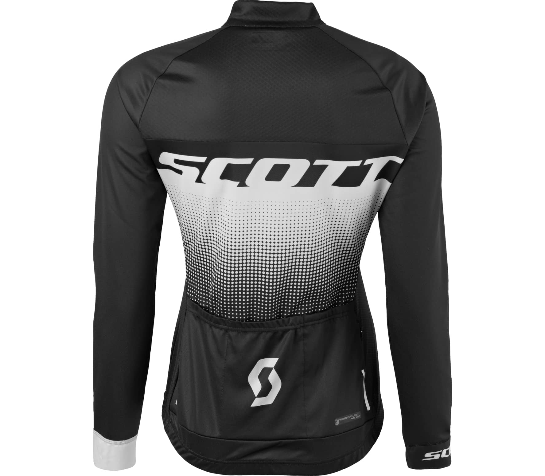 scott rc pro longsleeve damen bike trikot schwarz wei. Black Bedroom Furniture Sets. Home Design Ideas