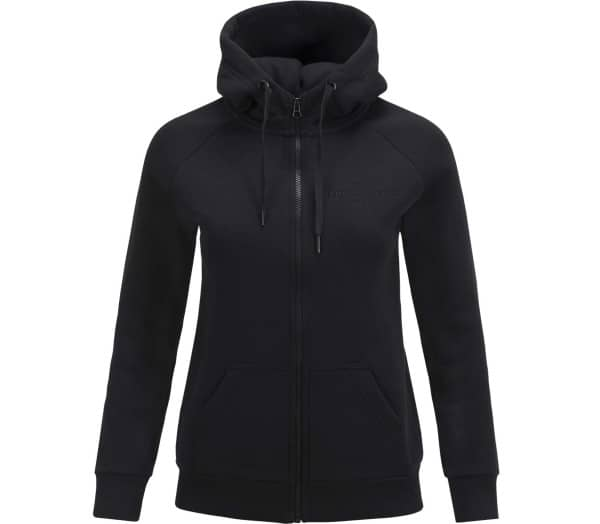 PEAK PERFORMANCE Logo Zip Damen Sweatjacke - 1