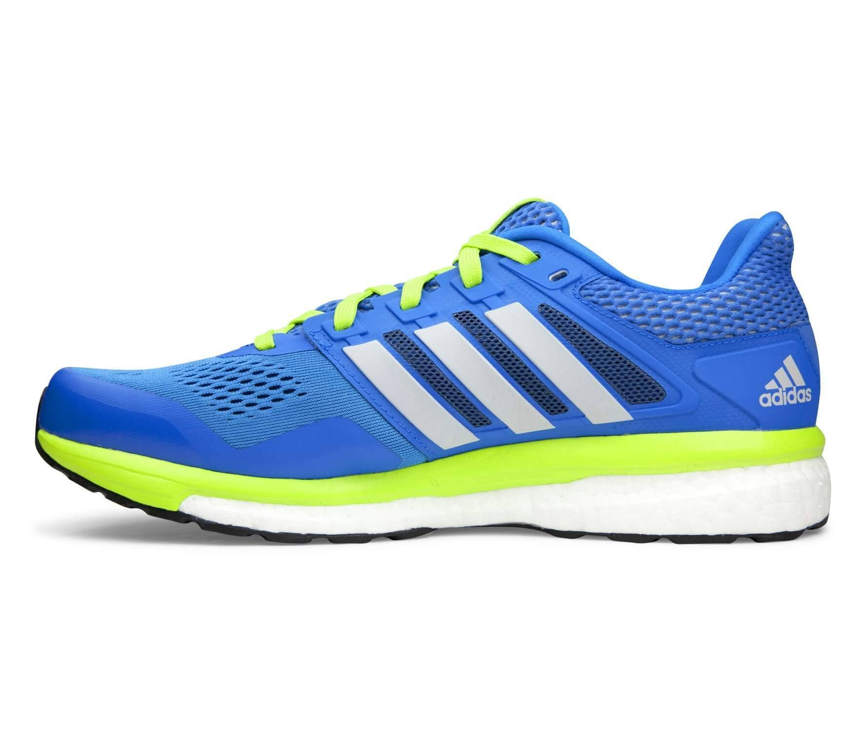 eb440808c10d5 Adidas - Supernova Glide Boost 8 Chill men s running shoes (blue light  yellow)