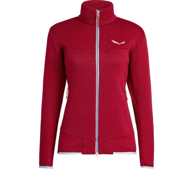 Salewa Puez Clastic Zip-In Women red