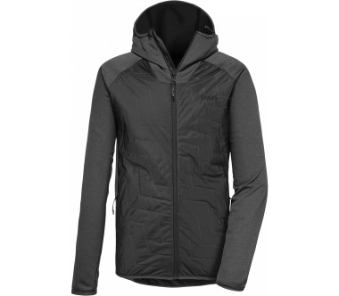 Pyua Snug-Y 2.0Hybrid Hooded Fleece Jacket Herren silber