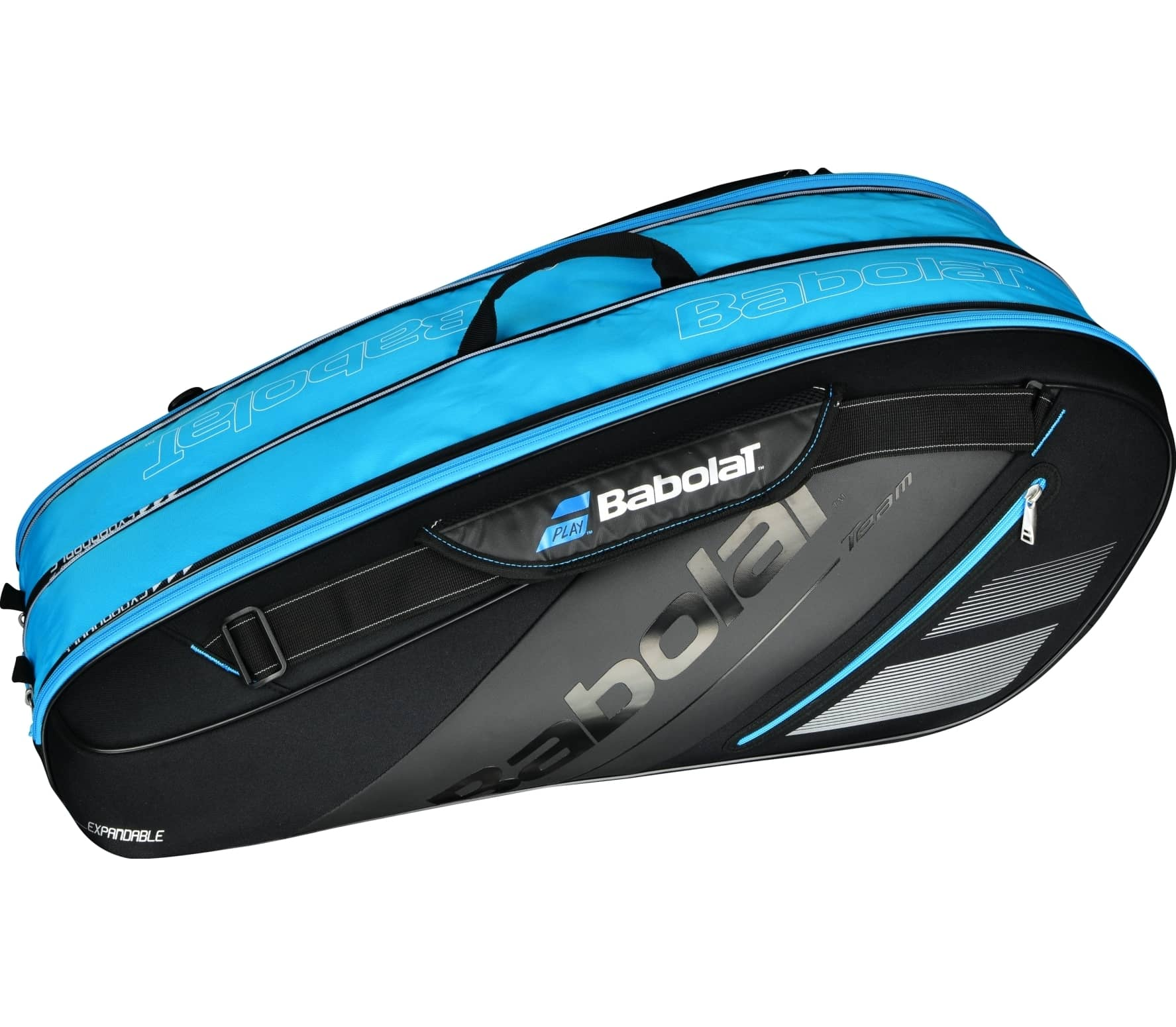 Babolat - Racket Holder X6 Expandable tennis bag (black/blue)