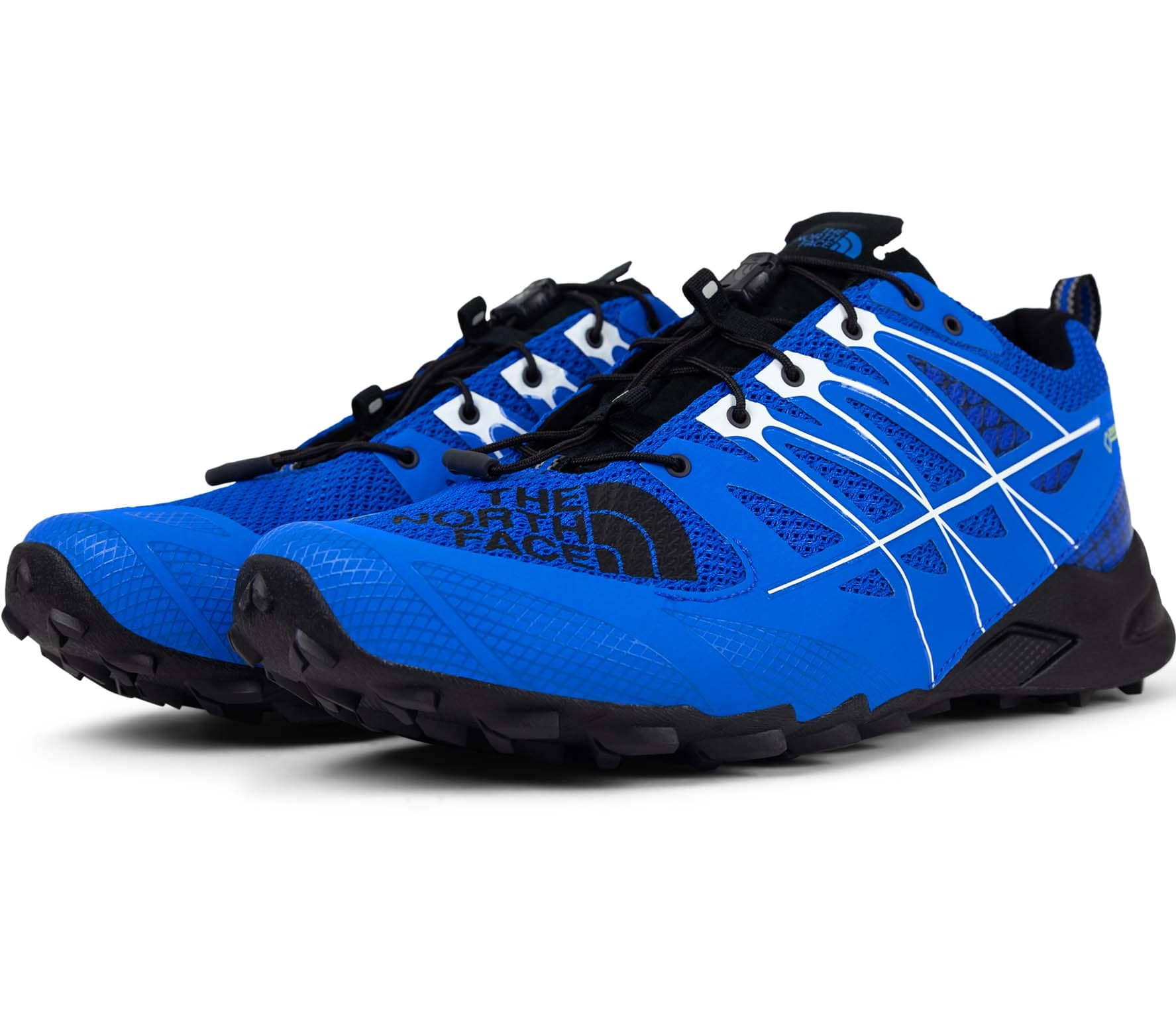The North Face Ultra Mt II GTX Hommes Trail Running Shoe (bleublanc)