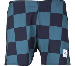 SAYSKY Checker Pace Men Running Shorts