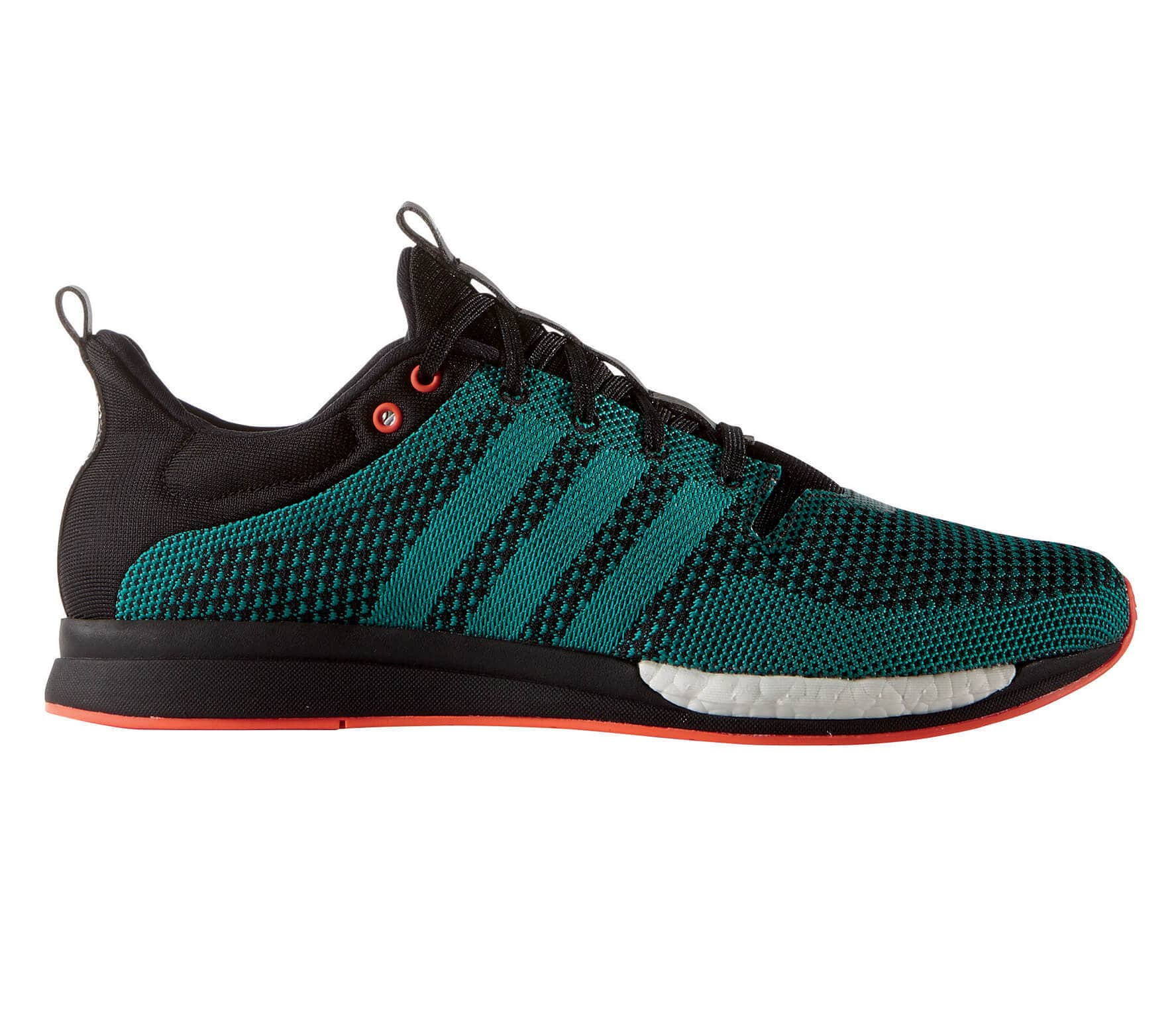 wholesale dealer a7497 18fa0 Adizero Feather Boost mens running shoes (dunkeltürkisblack)