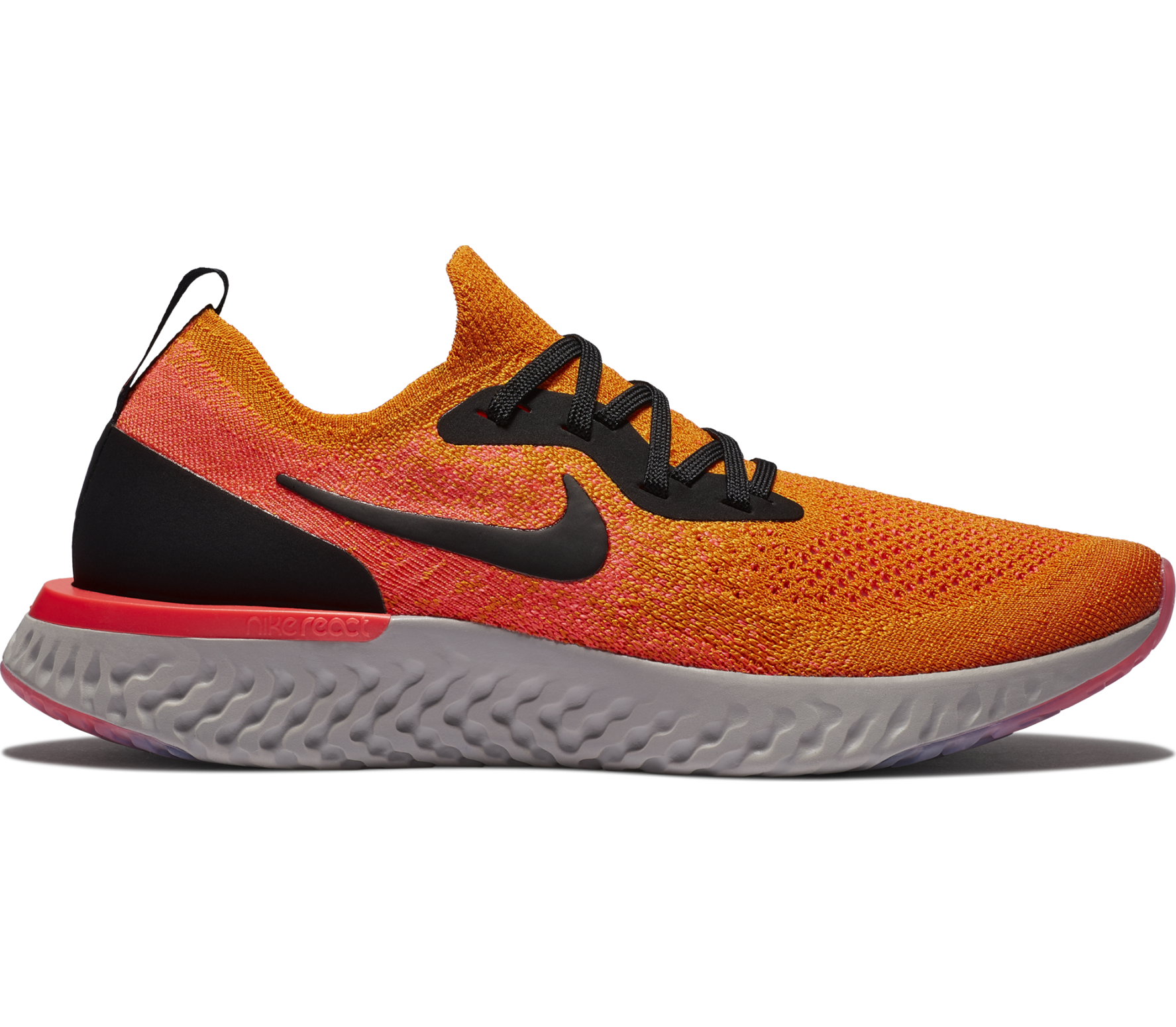 huge discount f6583 69e25 Nike - Epic React Flyknit Damen Laufschuh (orange)