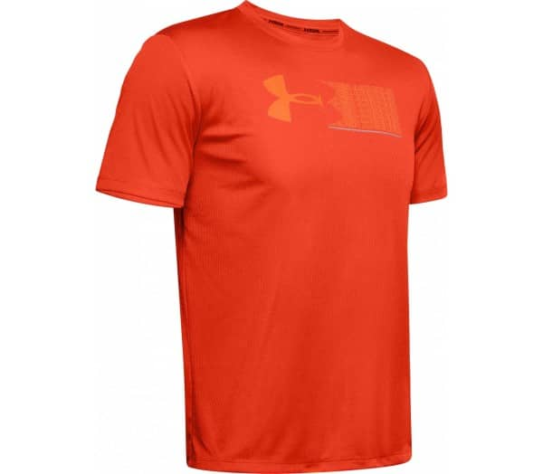 UNDER ARMOUR Run Graphic Escape Men Running Top - 1
