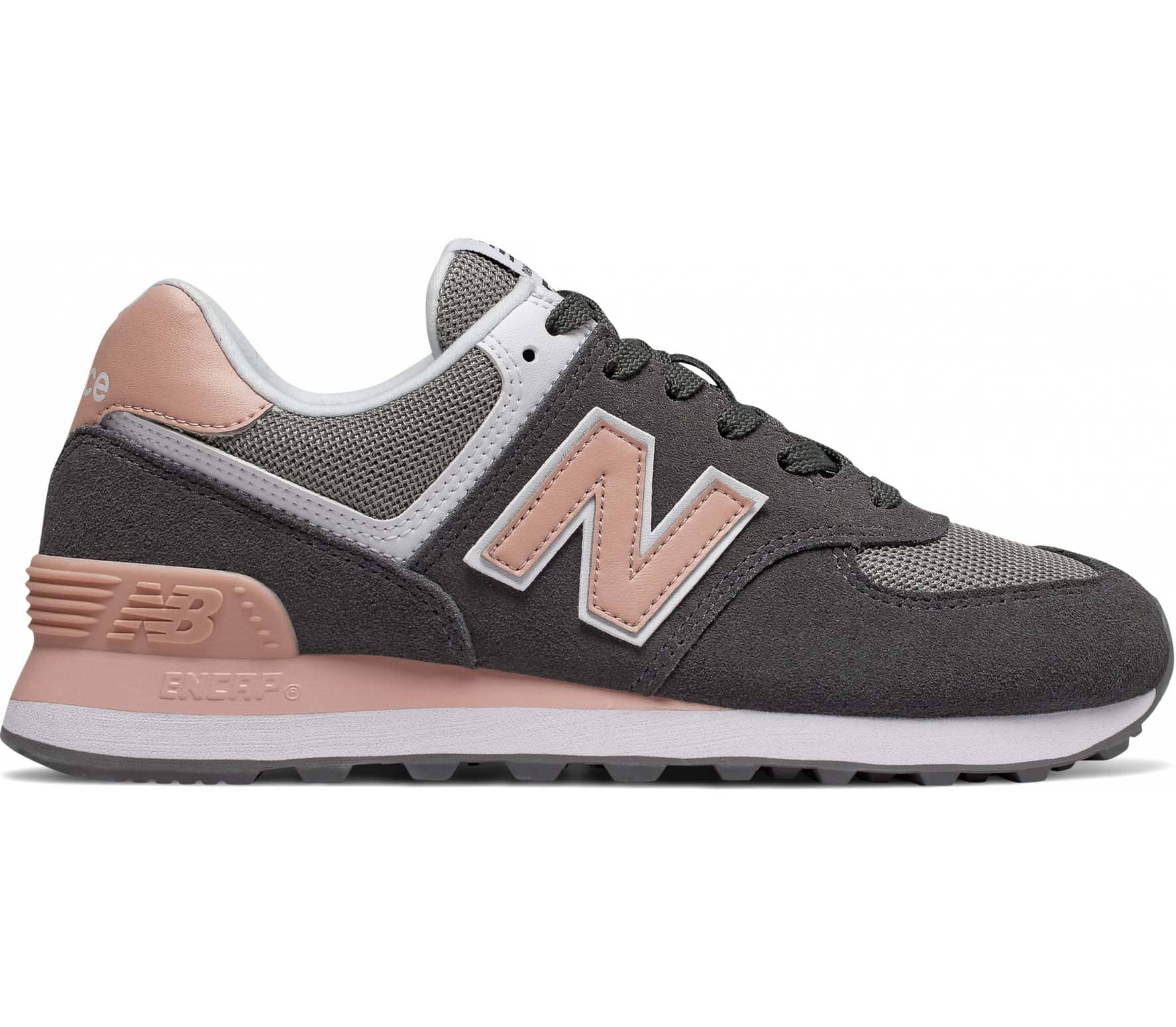 new products 81d26 a34f0 New Balance 574 Mujer Zapatillas gris