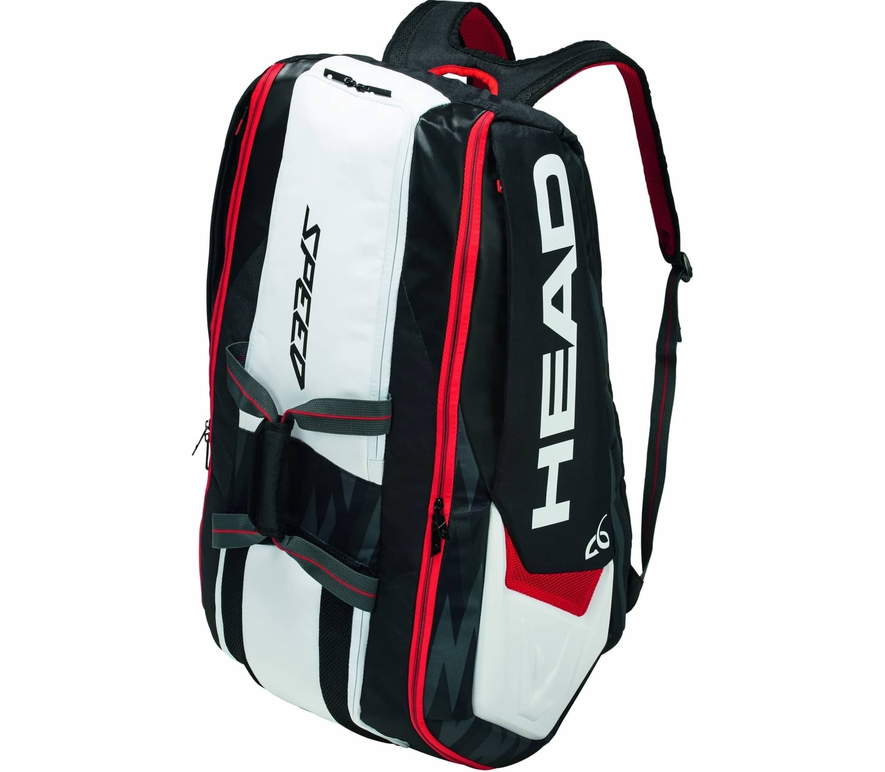 Head Djokovic 12R Monstercombi Tennistasche black