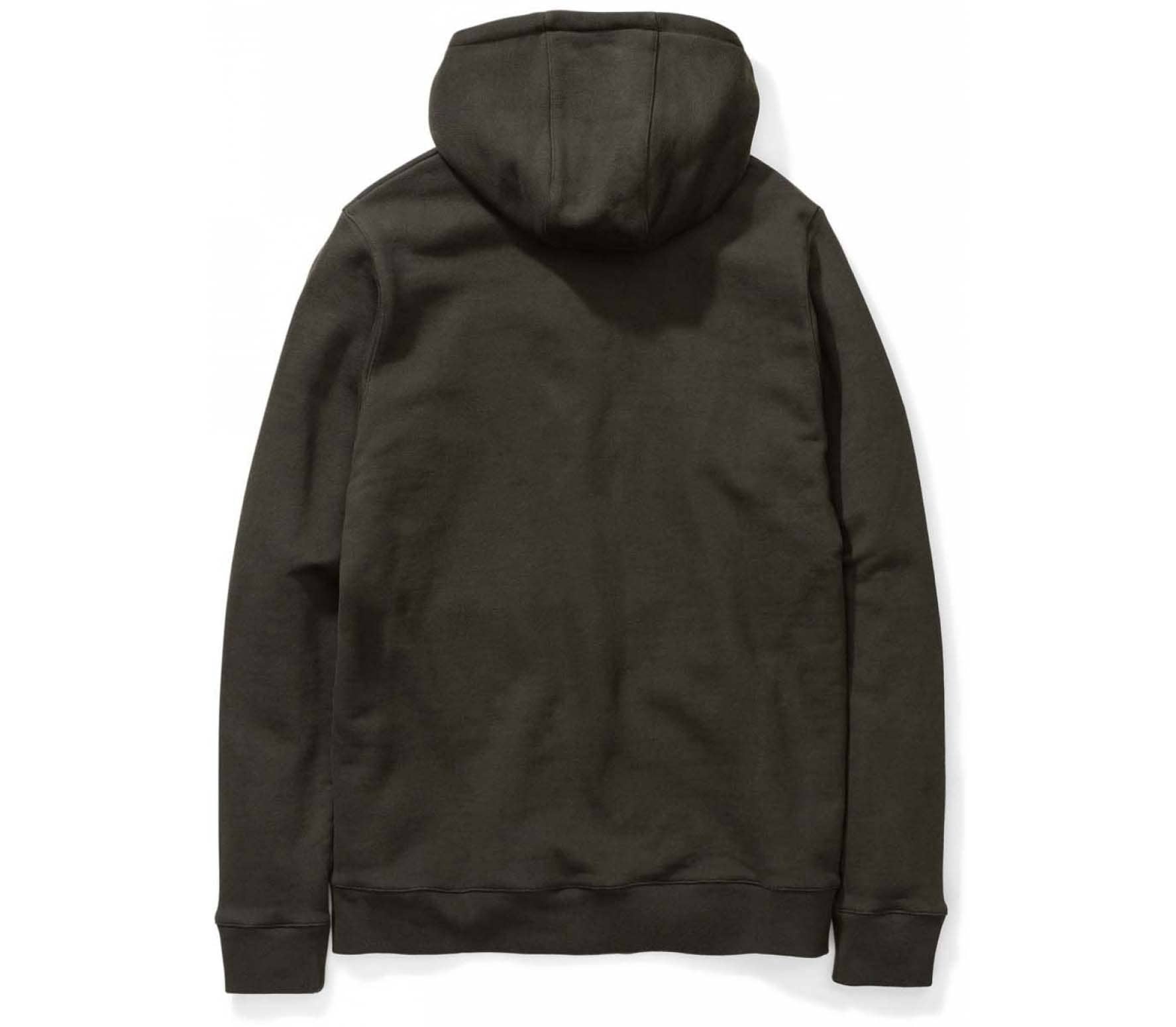 Norse Projects Vagn Classic Unisex Hoodie grün