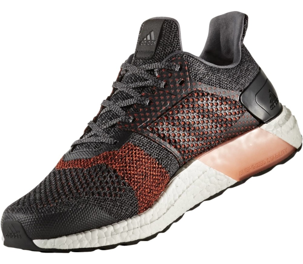 Adidas Ultra Boost St Men S Running Shoes Dark Red
