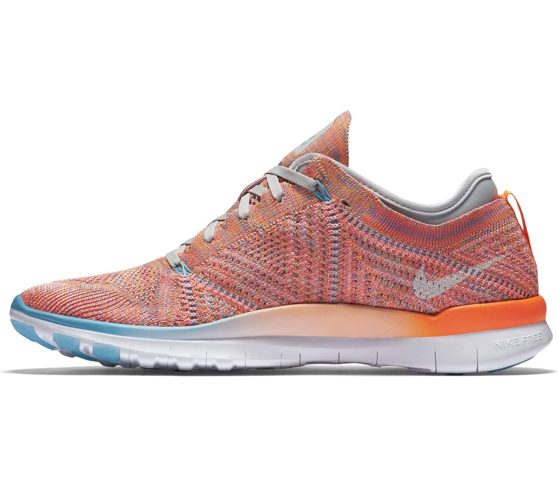 le dernier 4a906 76377 hot nike free tr flyknit 5.0 light orange weiß a0754 5b4db