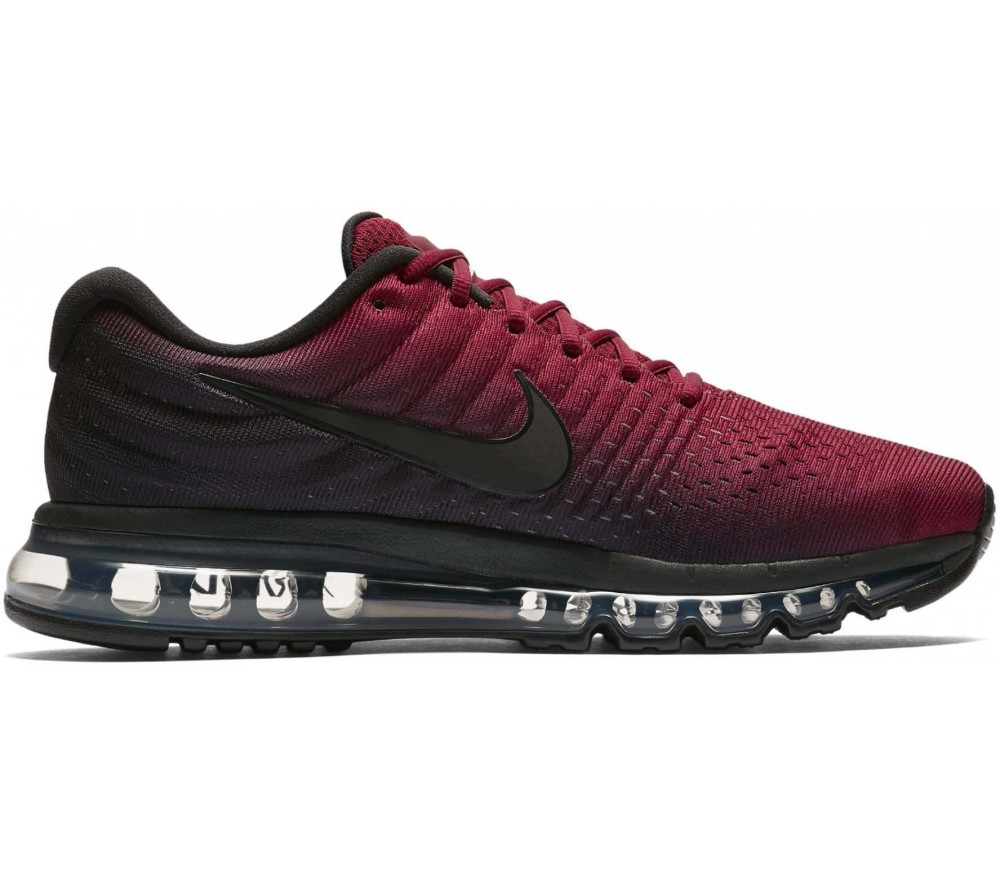 best authentic f74c7 0a6f9 Nike - Air Max 2017 mens running shoes (blackred)
