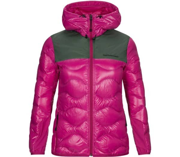 PEAK PERFORMANCE Helium Glacier Hood Jacket Women Down Jacket - 1