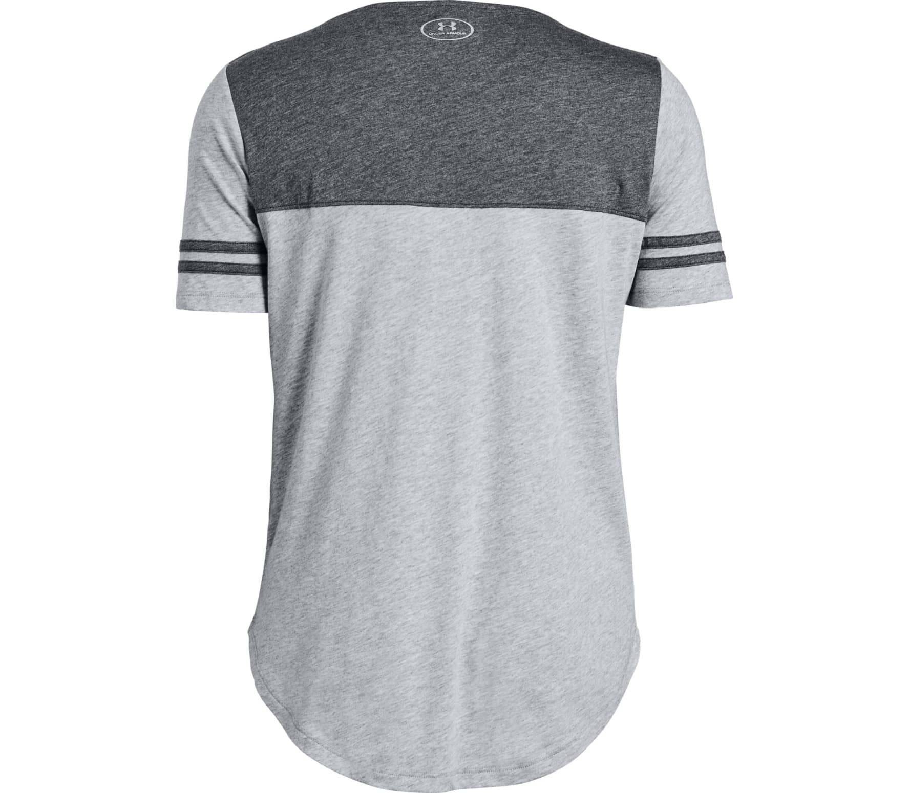 Under Armour - Sportstyle Baseball women s training top (grey) - buy ... 890446a5bf