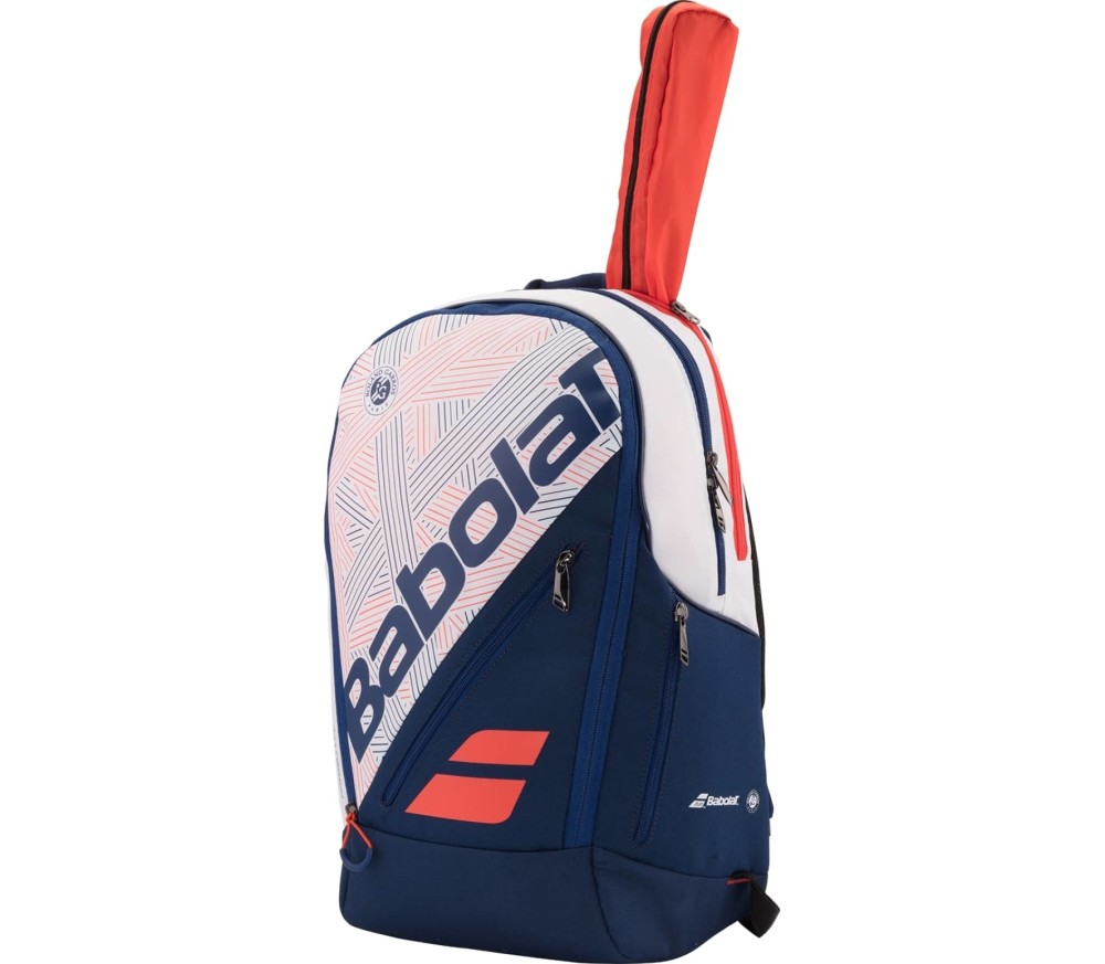 Babolat - Team Expand tennis backpack (white/dark blue)