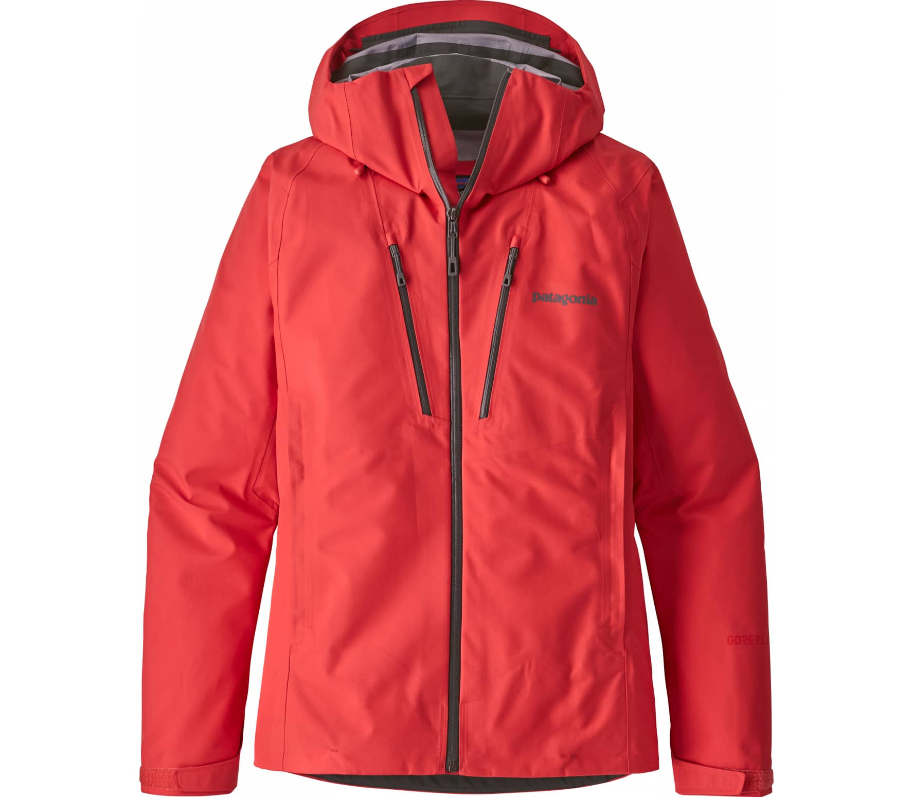 Patagonia - Triolet women's outdoor jacket (red)