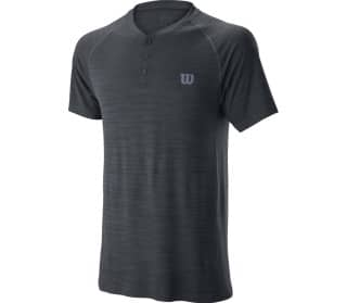 Competition Seamless Henley Herr Tennis-överdel