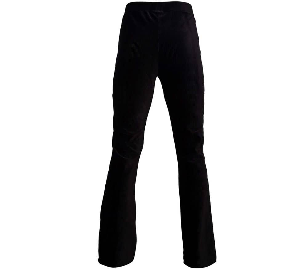 Knitted Corduroy Stretch Women Trousers