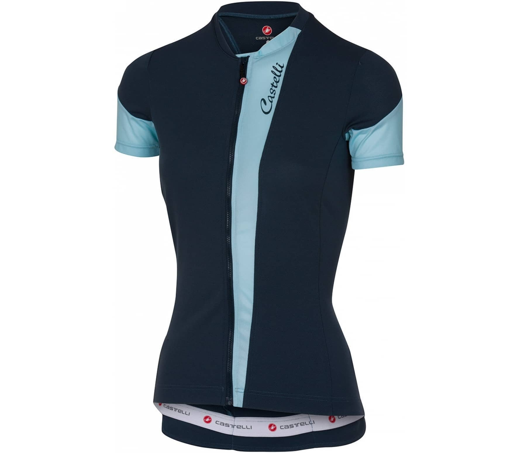 castelli spada jersey fz damen bike trikot blau im. Black Bedroom Furniture Sets. Home Design Ideas