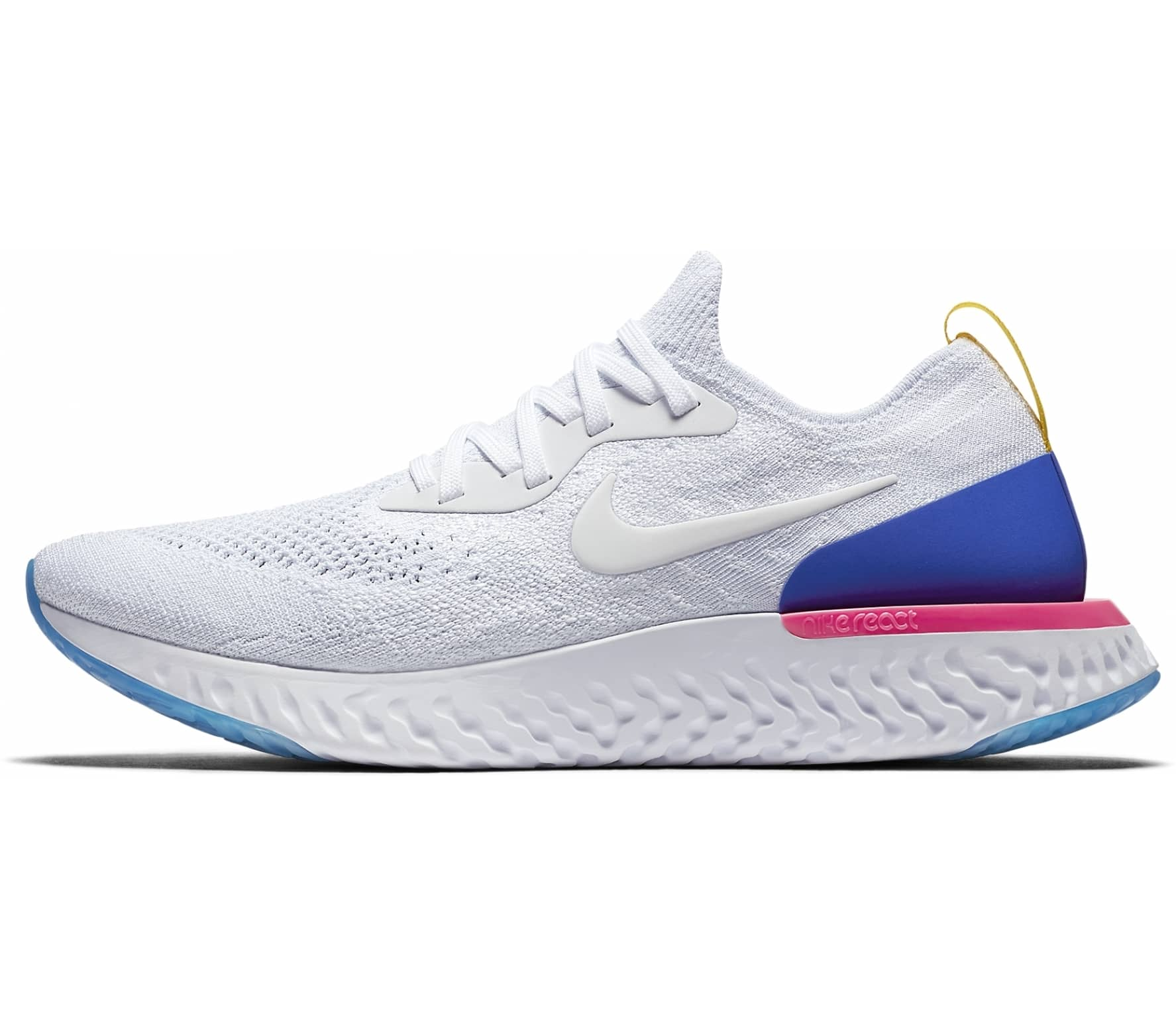 32ee42d7adf Nike - Epic React Flyknit men s running shoes (white) - buy it at ...