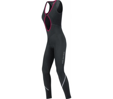 GORE Wear® - Power Lady Thermo culote de ciclismo para mujer (negro)