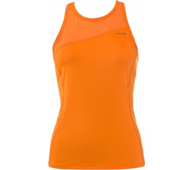 Head - Vision Damen Tennistank (orange)