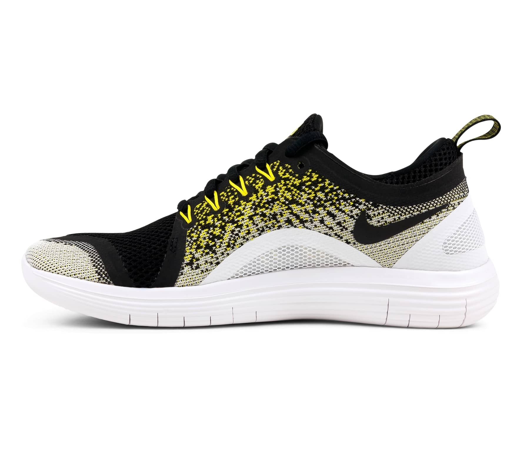 a65ae08bbe1 Nike - Free RN Distance 2 BSTN women s running shoes (black yellow ...