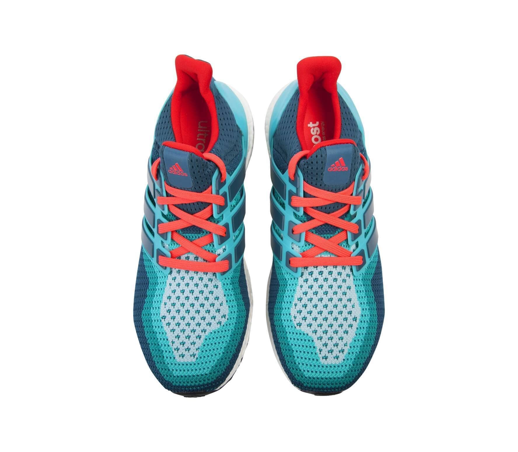 huge discount hot products coupon code Adidas - Ultra Boost men's running shoes (turquoise/red)