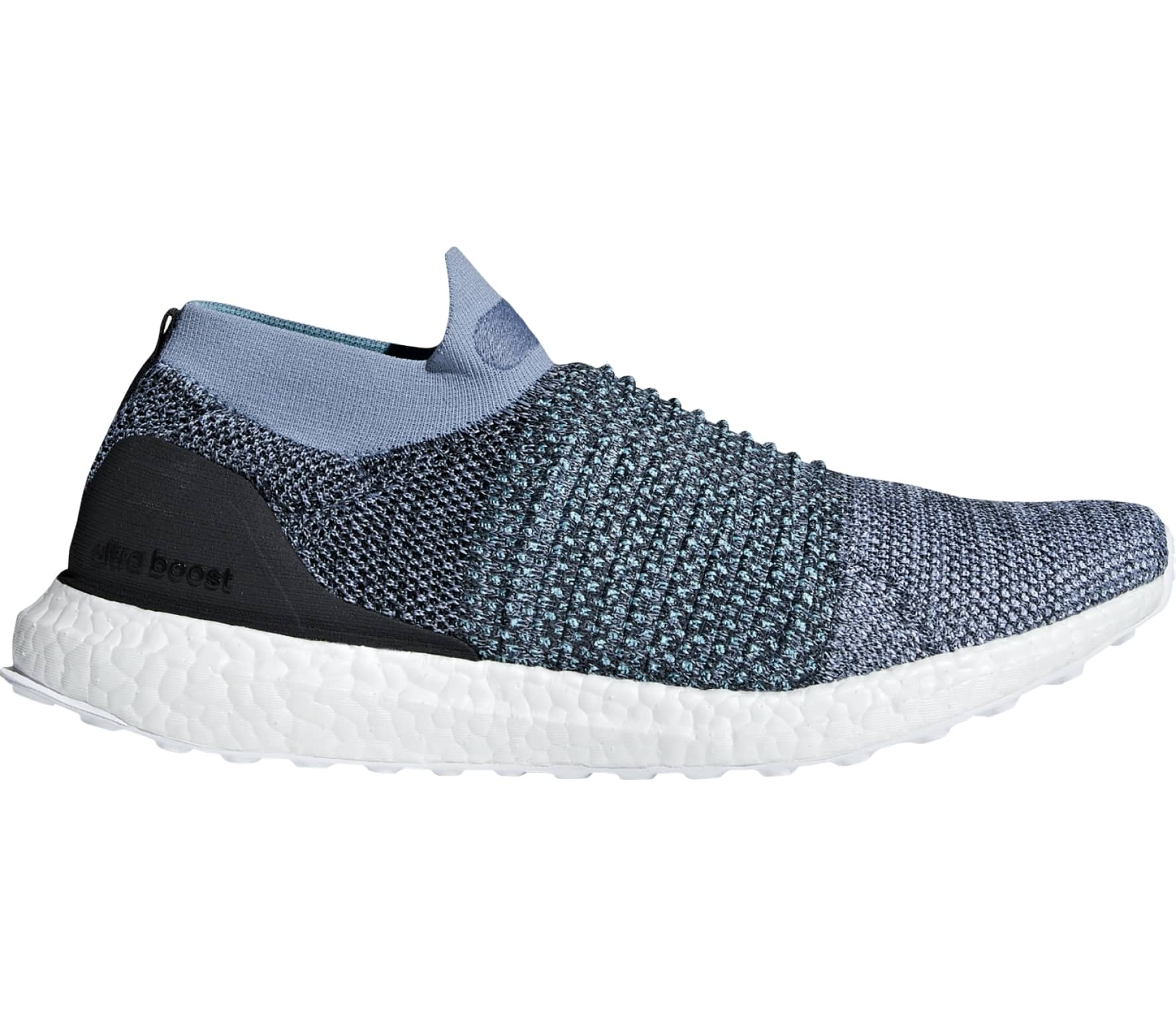 3b5a9f94c Adidas - UltraBOOST Laceless Parley men s running shoes (blue) - buy ...