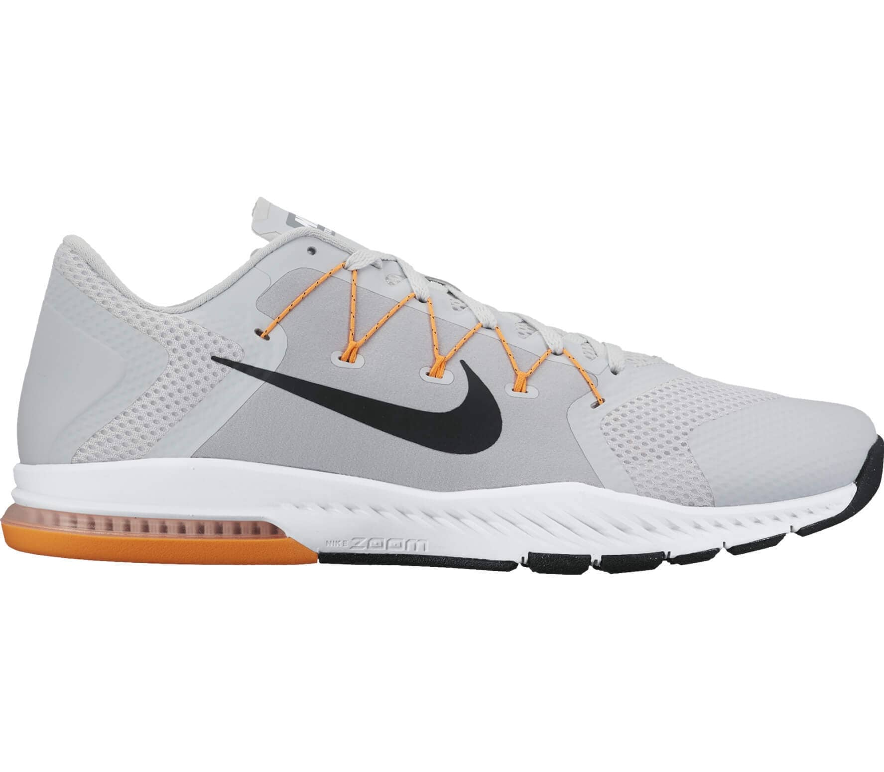 huge discount ce49c 3117d Nike - Zoom Train Complete mens training shoes (light greyorange)