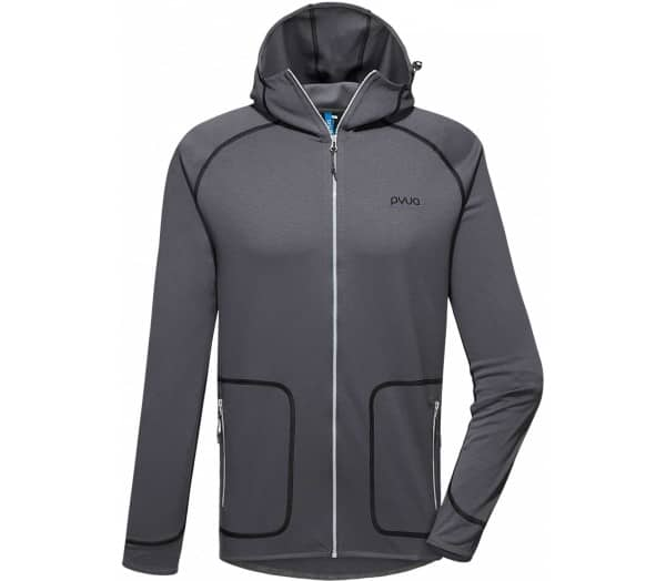 PYUA Exceed-Y Hooded Men Fleece Jacket - 1