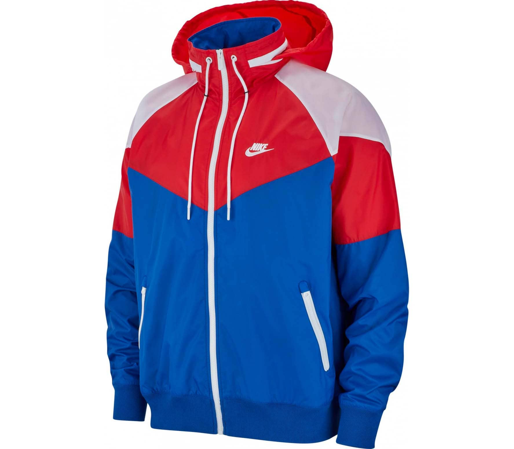 ab38c2ff93 Nike Sportswear - Windrunner men s jacket (red blue) - buy it at the ...