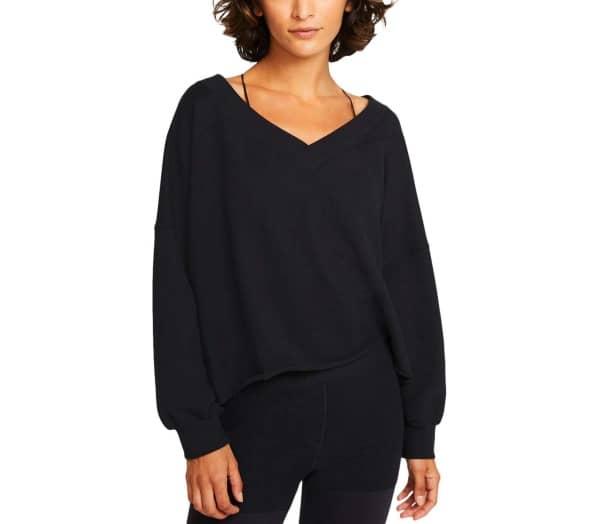NIKE Yoga Off-Mat Fleece Damen Trainingsshirt - 1