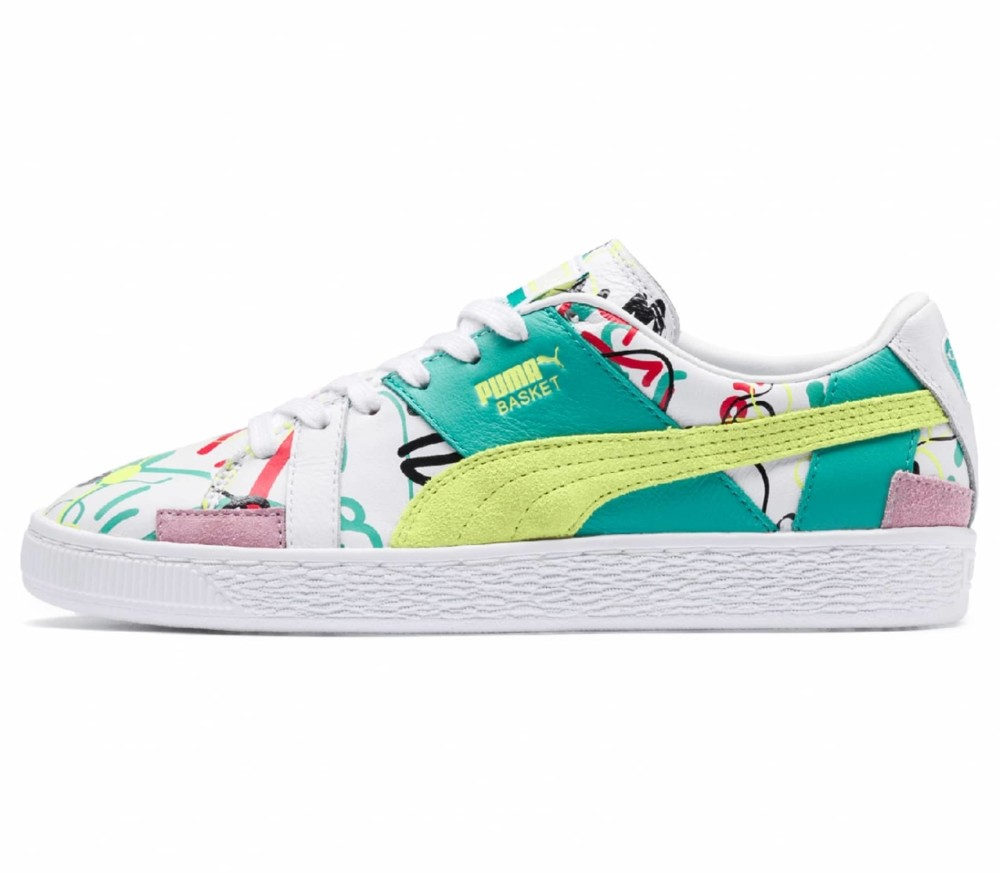 Basket Graphic SM Dam Sneakers